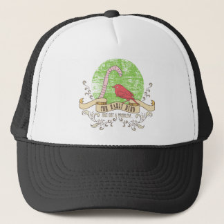 the early bird has got A problem Trucker Hat