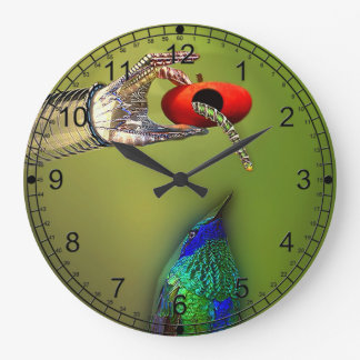 The Early Bird Large Clock