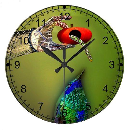 The Early Bird Large Clock
