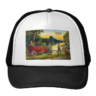 The Early Days of the Automobile 1910 Trucker Hat