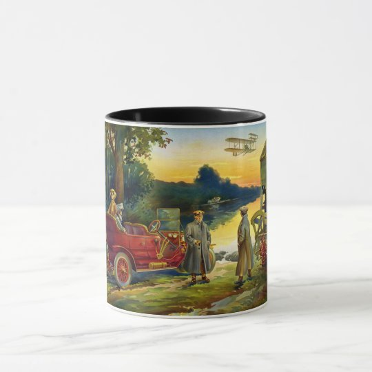 The Early Days of the Automobile 1910 Mug