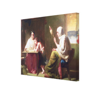 The Early Days of Timothy Canvas Print