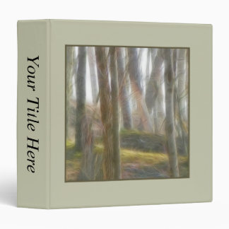 The Early Spring Forest 3 Ring Binder