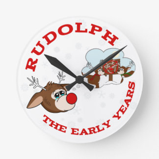the Early Years Round Clock