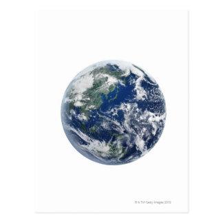 The Earth 11 Postcard