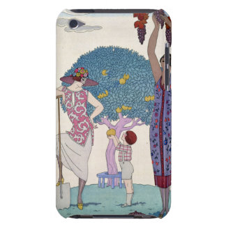 The Earth, 1925 (colour litho) Case-Mate iPod Touch Case