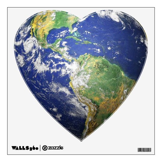 The Earth - 3D Effect Wall Sticker