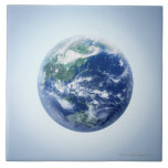 The Earth 9 Large Square Tile