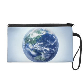 The Earth 9 Wristlet Purse