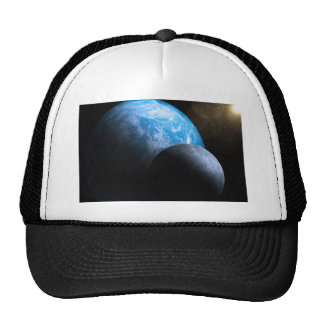 The Earth and Moon Hat