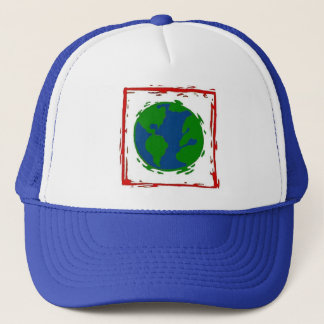 """The Earth"" Blue Hat"