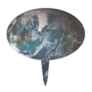 The Earth Cake Topper