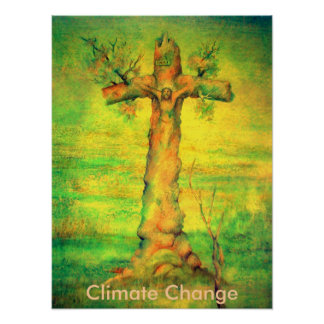 The Earth Christ Poster