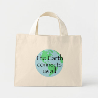 The Earth Connects Us All Bag