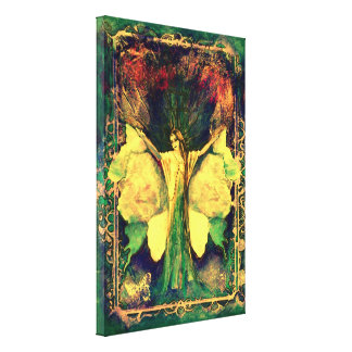 The Earth Element~ Goddess of the Forest Canvas Print