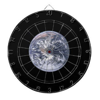 the earth from space dart board