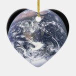 the earth from space ornament