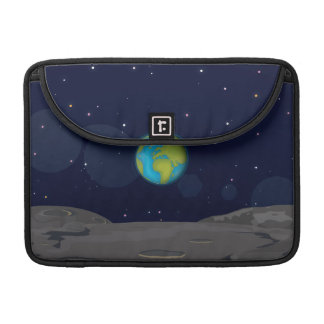 The Earth from the Moon Sleeve For MacBook Pro