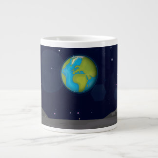 The Earth from the Moon Extra Large Mug