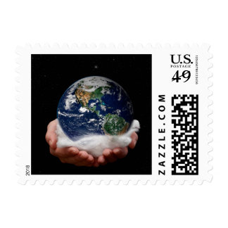 The Earth in your Hands Stamps