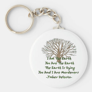 The Earth Is Dying Keychain