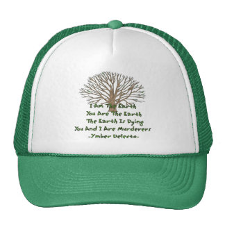 The Earth Is Dying Trucker Hat