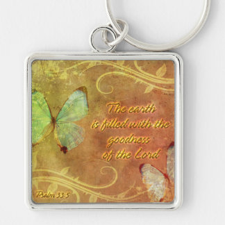 The earth is filled with..Keychain Keychain