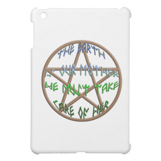 the earth is our mother iPad mini cases