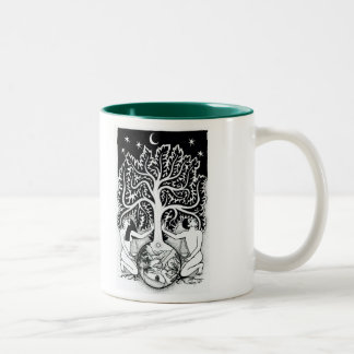 The Earth is our Mother Two-Tone Coffee Mug
