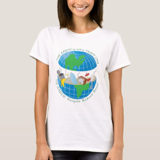 The earth is still a big blue marble. T-Shirt