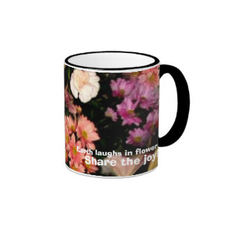 The Earth laughs in flowers Mug