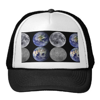 The Earth & Moon From Space Trucker Hat