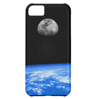The Earth & Moon iPhone 5C Case