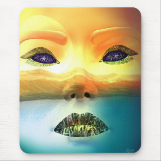 The Earth Mother Mouse Pad