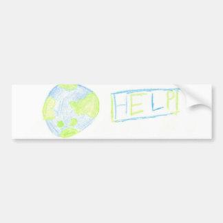 The Earth needs you! Car Bumper Sticker