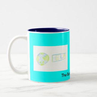 The Earth needs you! Two-Tone Coffee Mug