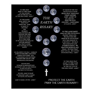 THE EARTH ROSARY POSTER