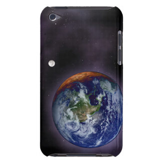 The Earth shown at the outer edges iPod Touch Case