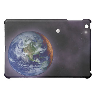 The Earth shown at the outer edges Cover For The iPad Mini