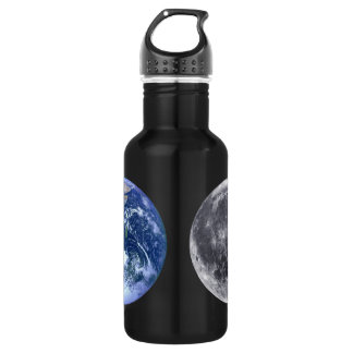 The Earth & The Moon Water Bottle