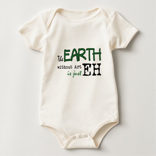 The Earth Without Art Baby Bodysuit