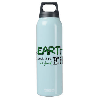 The Earth Without Art Insulated Water Bottle
