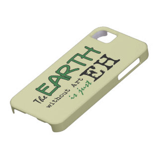 The Earth Without Art iPhone SE/5/5s Case