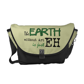 The Earth Without Art Courier Bags
