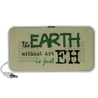 The Earth Without Art Mp3 Speakers