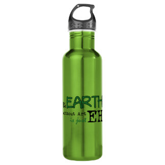 The Earth Without Art Stainless Steel Water Bottle