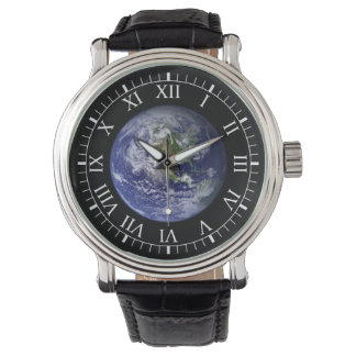 The Earth Wristwatch