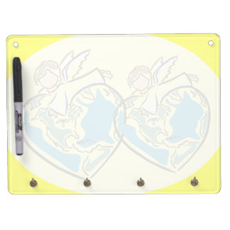 The Earth's Angel - Dry Erase Board With Keychain Holder