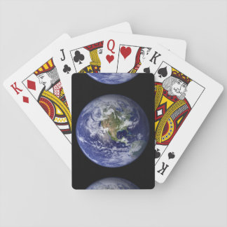 The Earth's Western Hemisphere Deck Of Cards