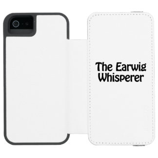 the earwig whisperer incipio watson™ iPhone 5 wallet case